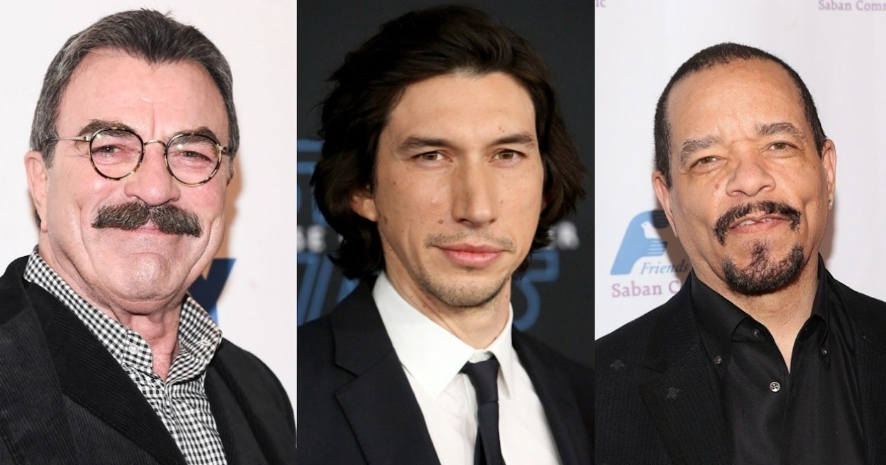 tom-selleck-adam-driver-ice-t-getty