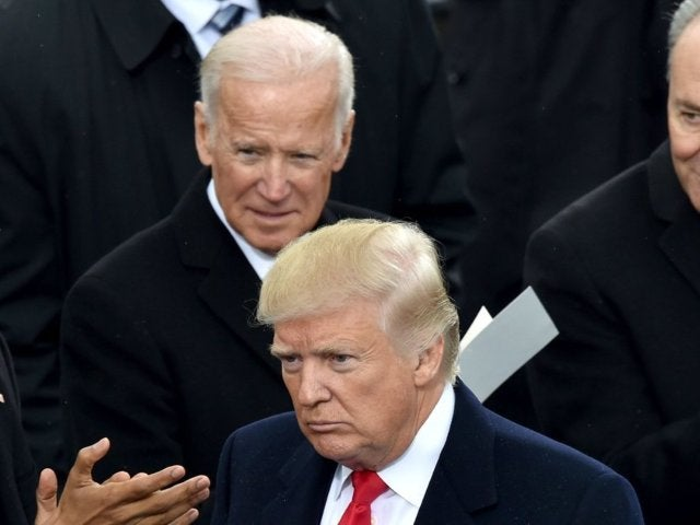 Joe Biden Takes a Swipe at Donald Trump With Tweet Comparison From a Year Ago