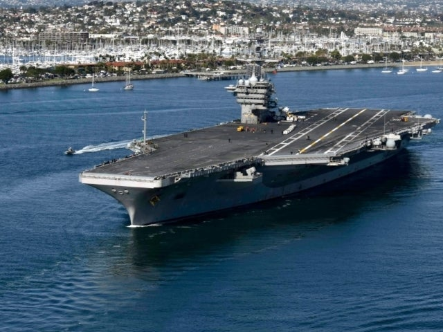 8 Sailors From USS Theodore Roosevelt Test Positive for Coronavirus Again Following Recovery