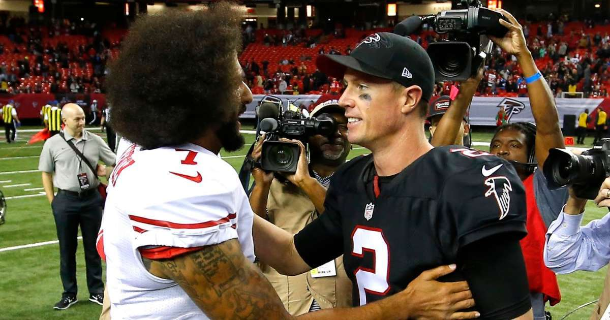 Atlanta Falcons QB Matt Ryan says Colin Kaepernick should have every opportunity to return play in NFL