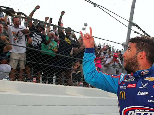 Bubba Wallace Says He Will 'Never Forget' Black Lives Matter Protesters Who Supported Him in the Stands