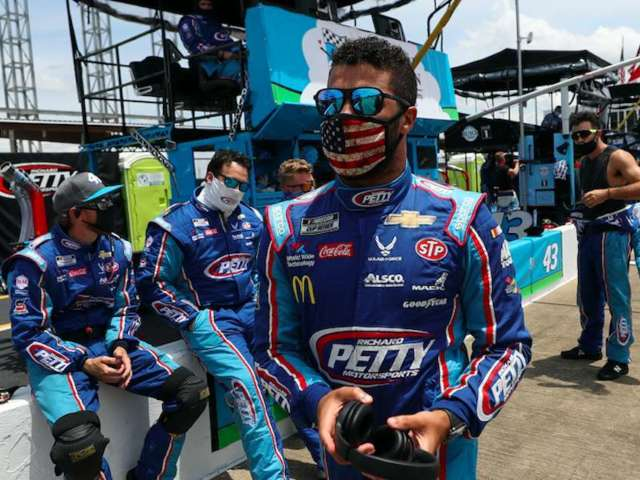 Bubba Wallace Offended by Claims Noose Incident Was a Hoax