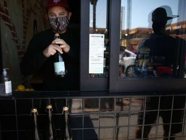 Los Angeles, Other California Hotspots Close Bars Once Again Amid Spiking Coronavirus Cases