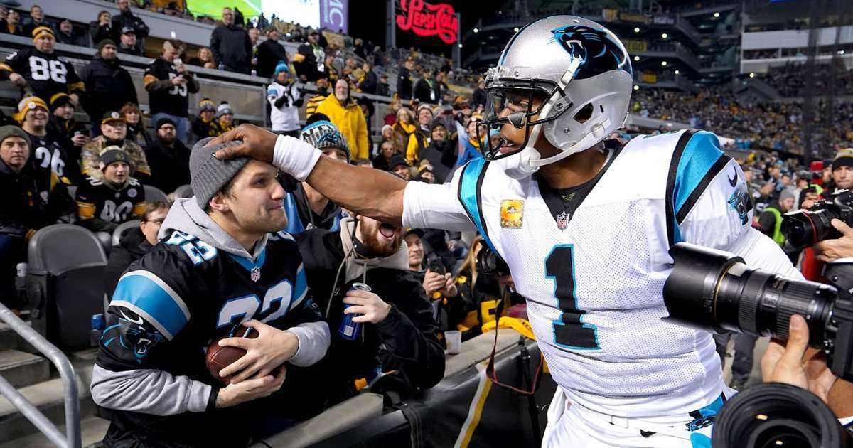 Cam Newton fans sound off agrees to sign Patriots