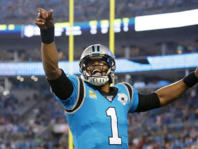Cam Newton Reacts to Joining New England Patriots