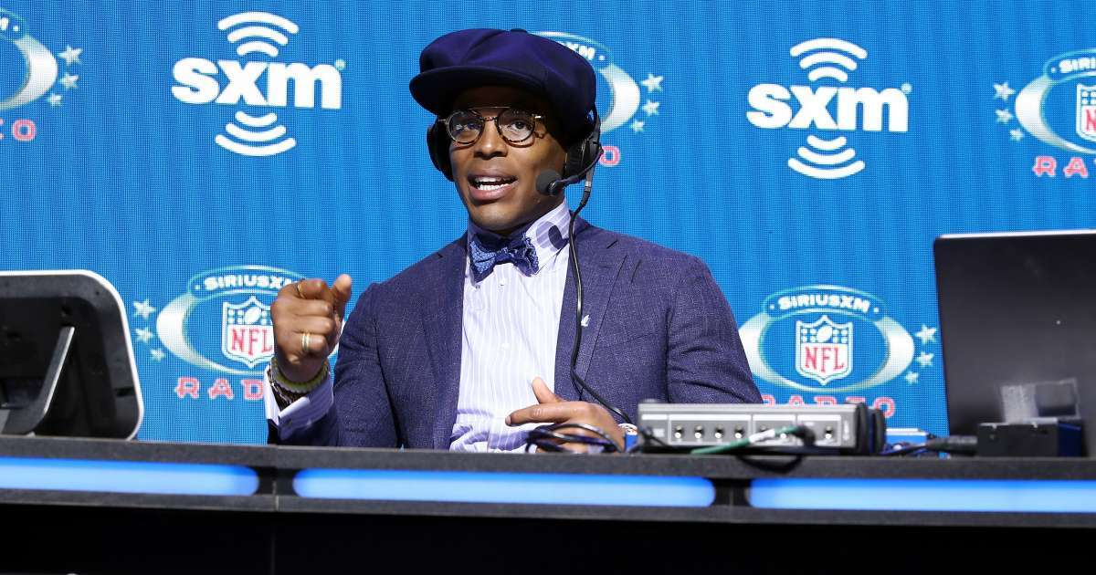 Cam Newton spotted first time signing Patriots