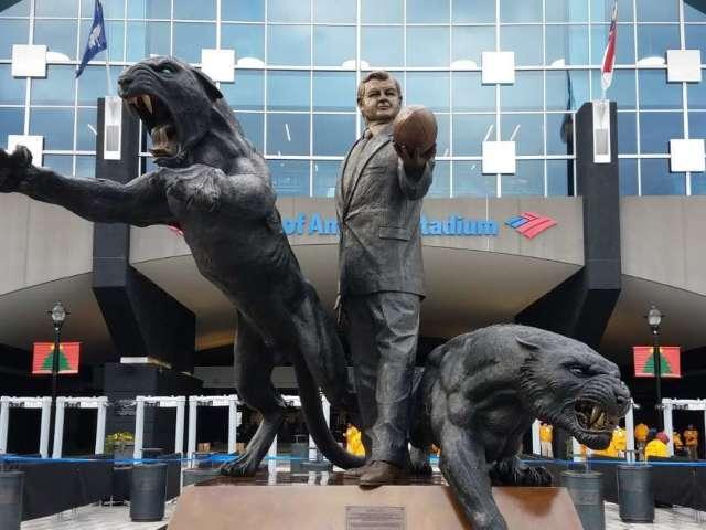 Carolina Panthers Removing Statue of Former Team Owner Jerry Richardson at Stadium