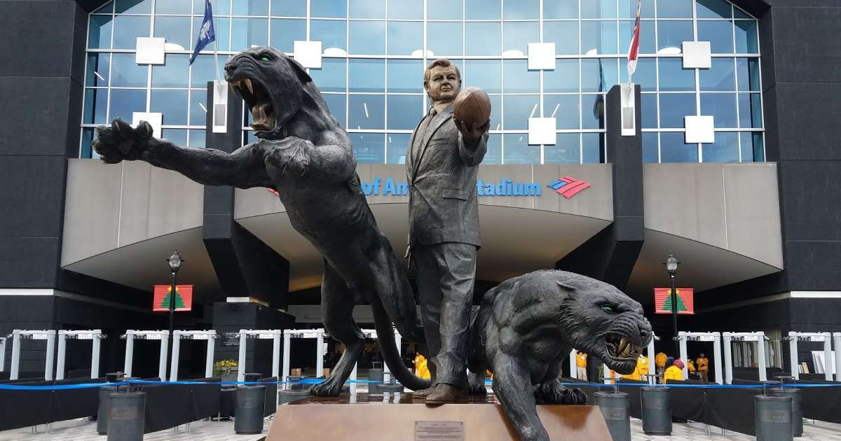Carolina Panthers removing statue former team owner Jerry Richardson stadium