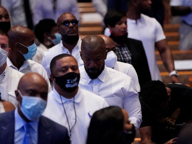 George Floyd Funeral: Jamie Foxx, Channing Tatum Among 500 Mourners Gathered in Houston
