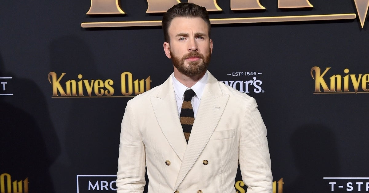 chris evans getty images