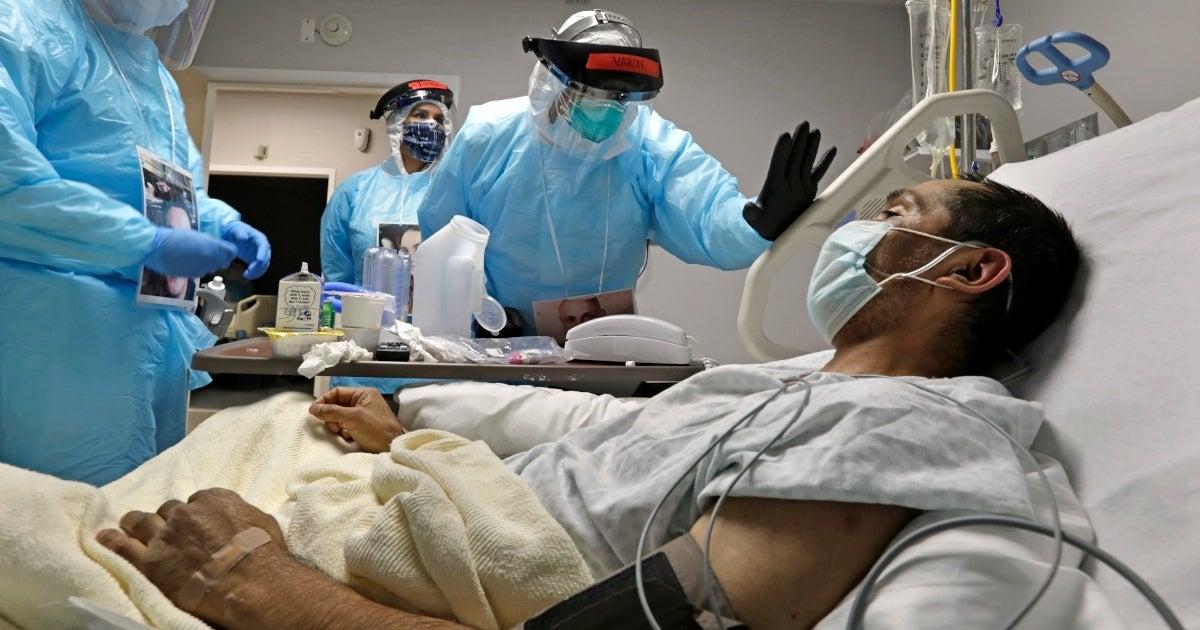 coronavirus patient getty images