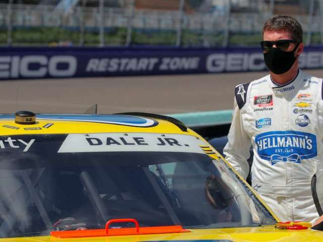 Dale Earnhardt Jr. Reacts to Lack of NASCAR Fans, No Practice Laps Following Hooters 250