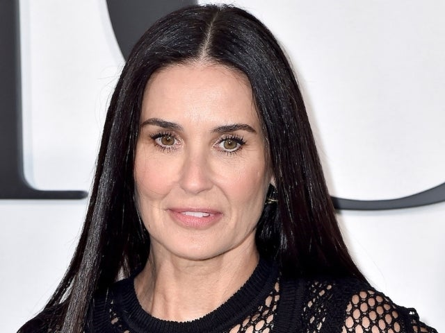 Demi Moore Is Unrecognizable With New Icy Blonde Hair
