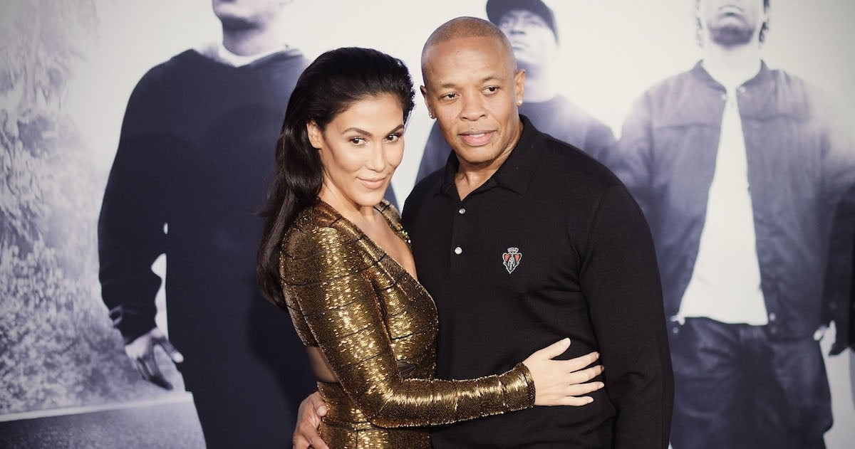 dr-dre-nicole-young_getty-Jason Kempin : Staff