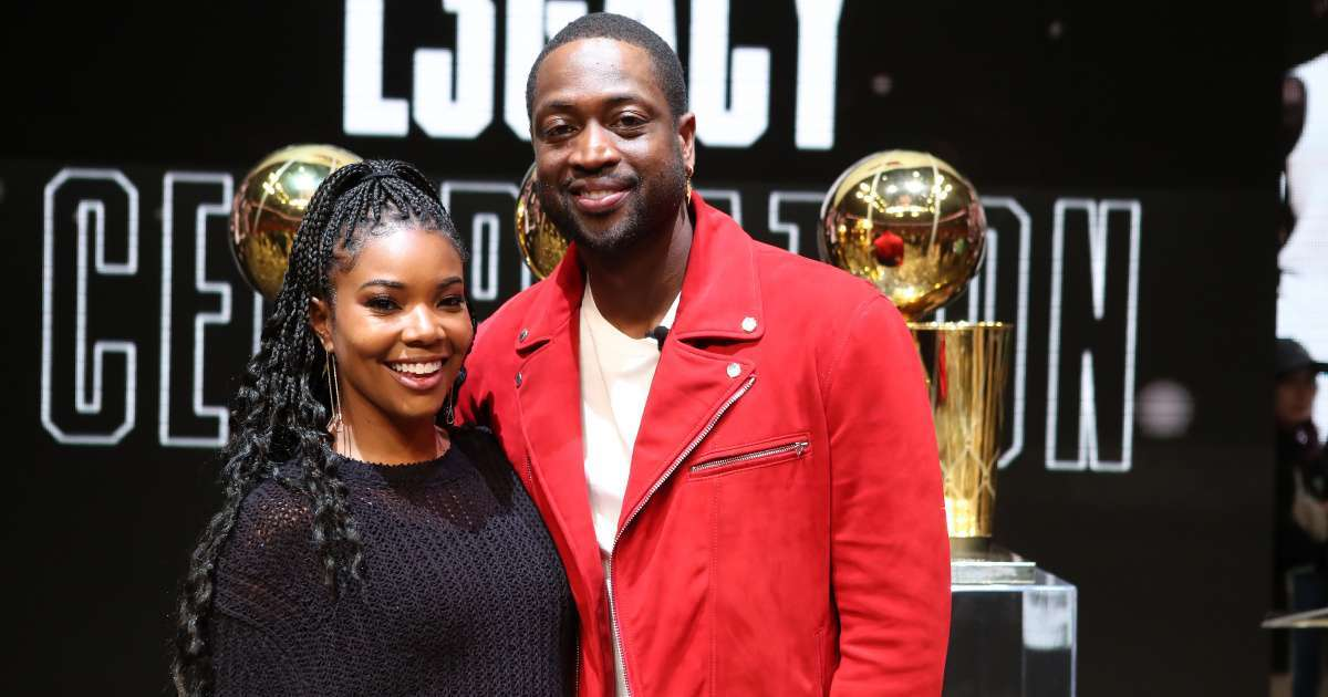 Dwyane Wade family followed home watched Gabrielle Union America's Got Talent Negotiations