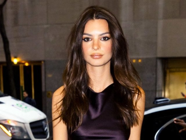 Emily Ratajkowski Just Went Blonde, and Showed It off With Stunning See-Through Outfit