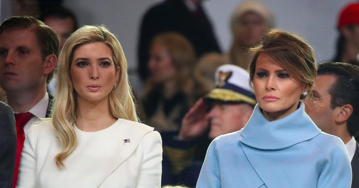 first-lady-melania-trump-ivanka-trump