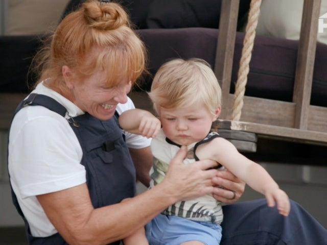 'Good Bones': Mina Starsiak-Hawk's Son Jack Learns to Crawl With Help From Grandma Karen Laine in Exclusive Clip