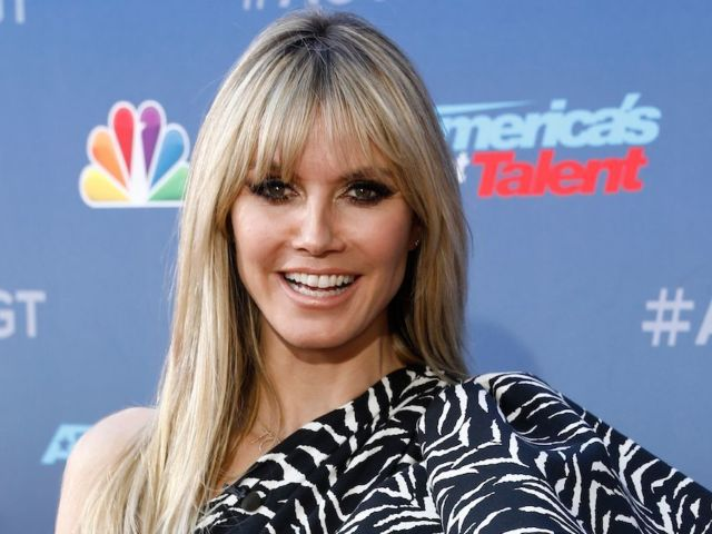 Heidi Klum Not Amused After 'America's Got Talent' Comedian Calls Her a 'Tramp'