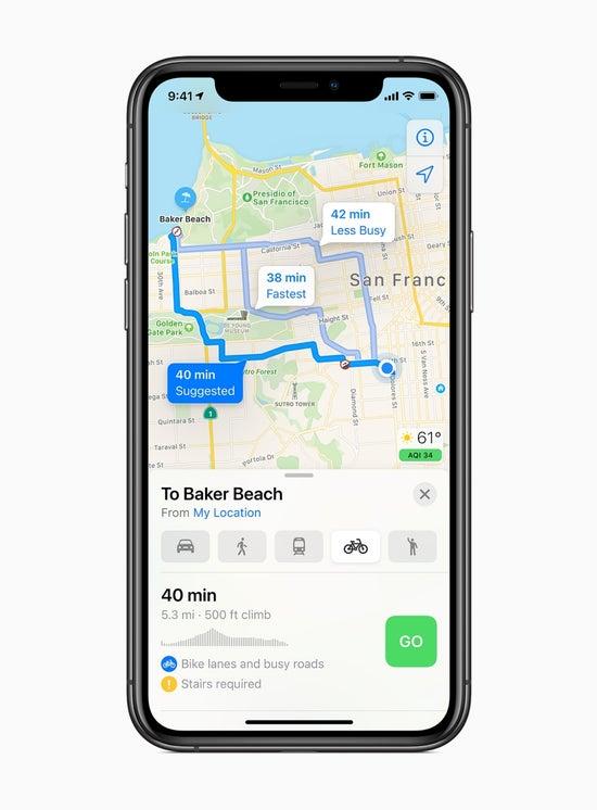 iphone maps 6