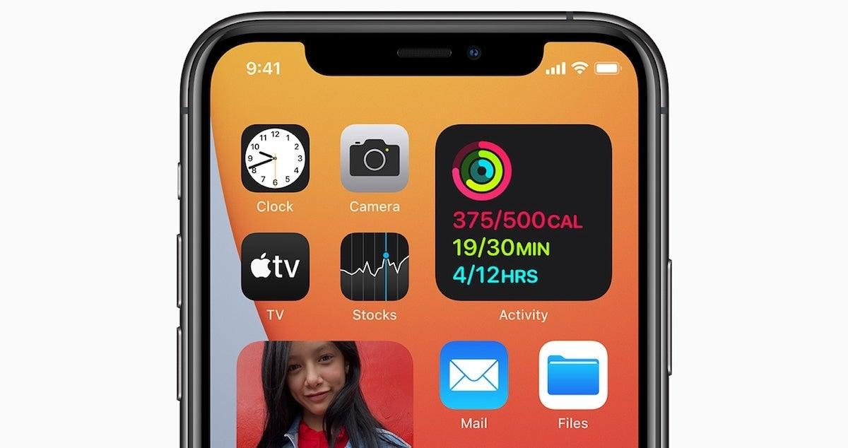 IPhone widgets 1