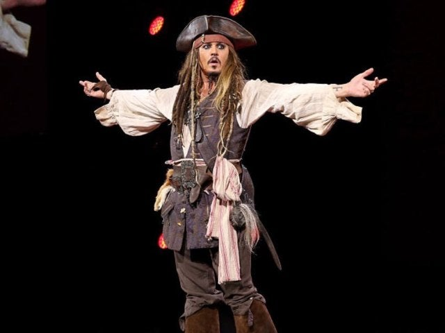 Johnny Depp Suits up as Jack Sparrow Again in New Photos