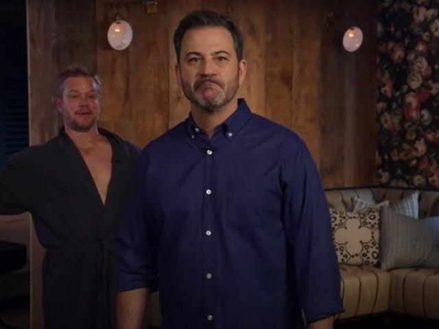 Watch Matt Damon Interrupt Jimmy Kimmel's Huge Summer Announcement for Late-Night Talk Show