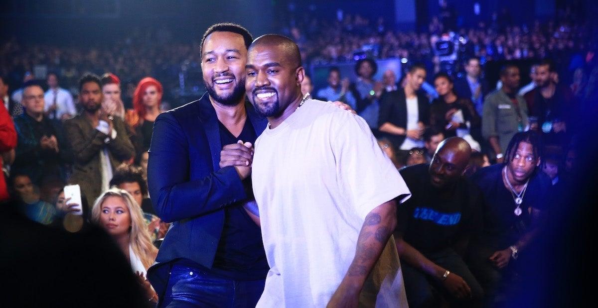 John Legend Kanye West