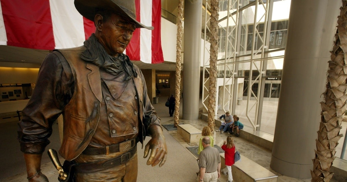 john wayne airport getty images
