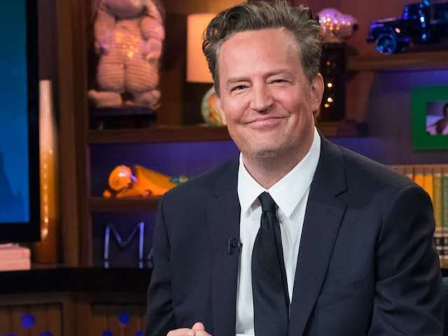 Matthew Perry Reacts to David Beckham Wearing a 'Friends' Shirt With Chandler on It