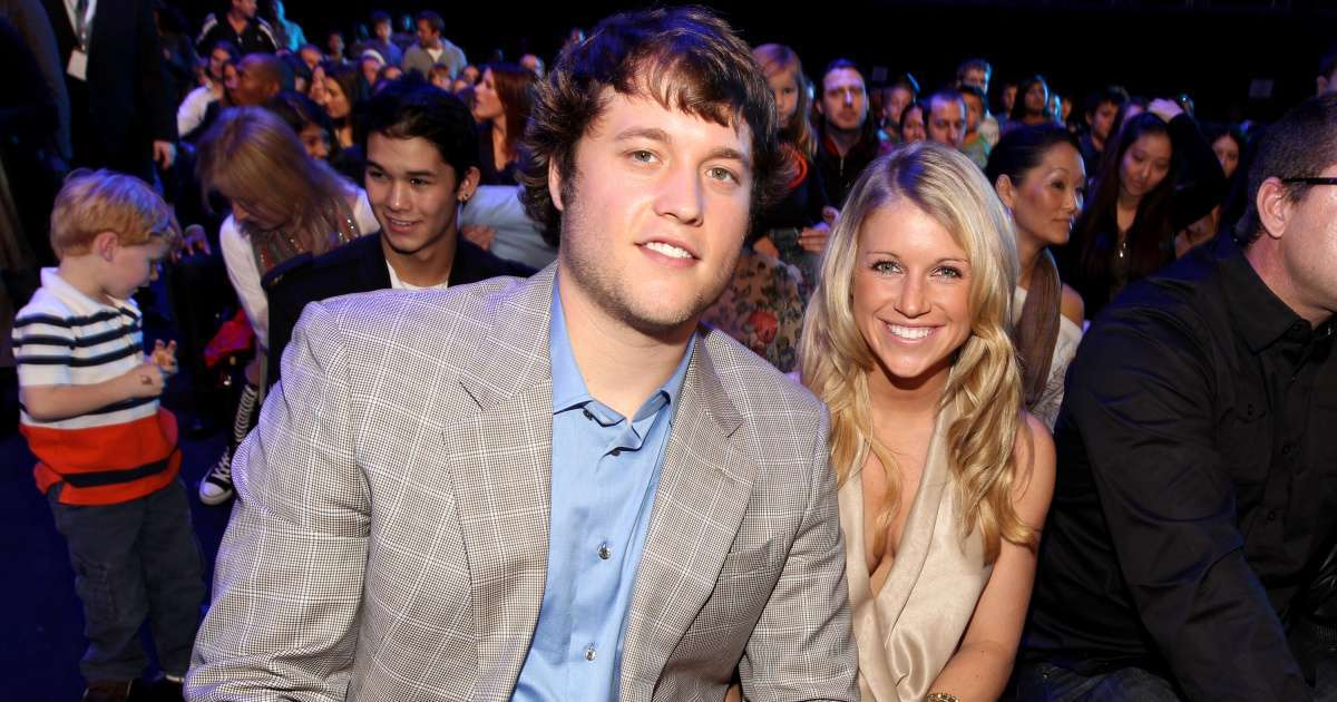 Matthew Stafford wife Kelly welcome fourth child