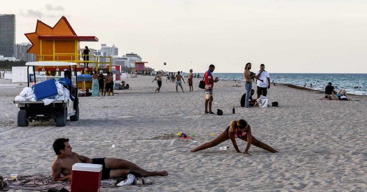 miami beach getty images coronavirus