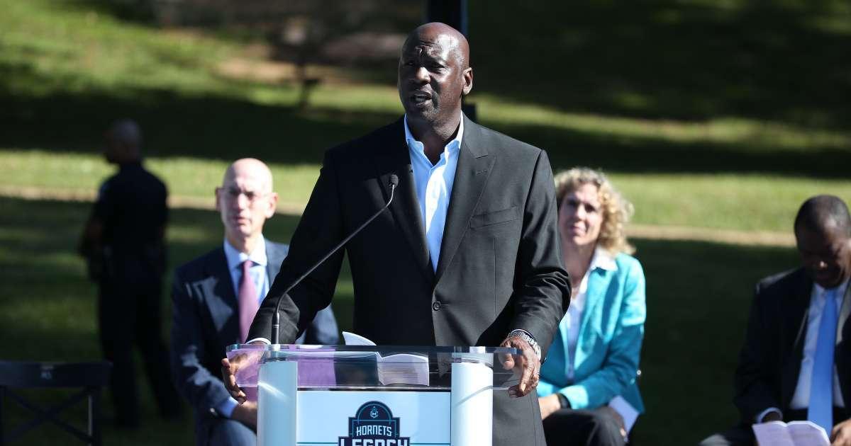 Michael Jordan Jordan brand donate 100m fighing racial social injustice