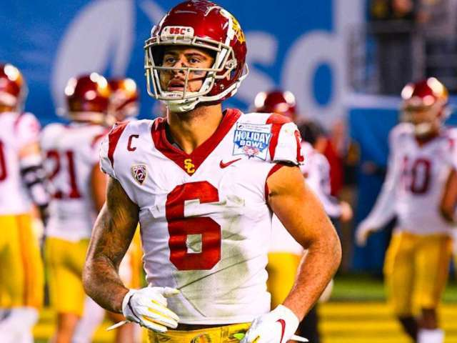 Michael Pittman Jr. Calls out USC Booster for Using His Photo While Tweeting 'Shoot the Protesters'