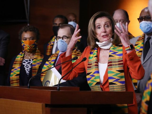 Democrats Mocked for Wearing Kente Cloth During Monday Demonstration