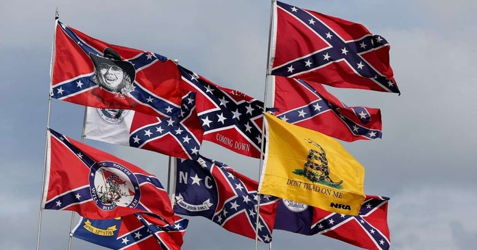 NASCAR boost TV ratings banning Confederate Flag