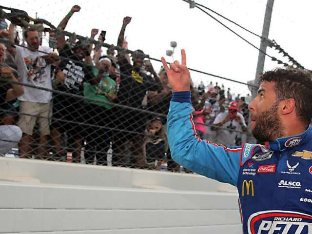 NASCAR Shares Photo of 'Noose' Found in Bubba Wallace's Garage at Talladega Speedway