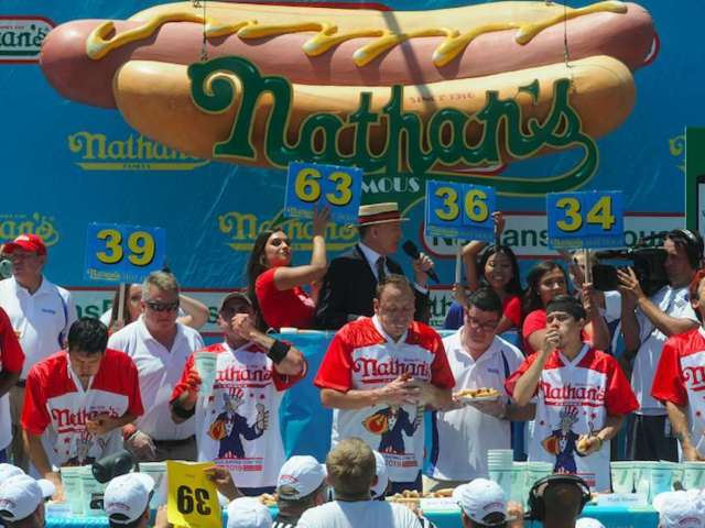 Nathan's Hot Dog Eating Contest to Take Place Without Fans