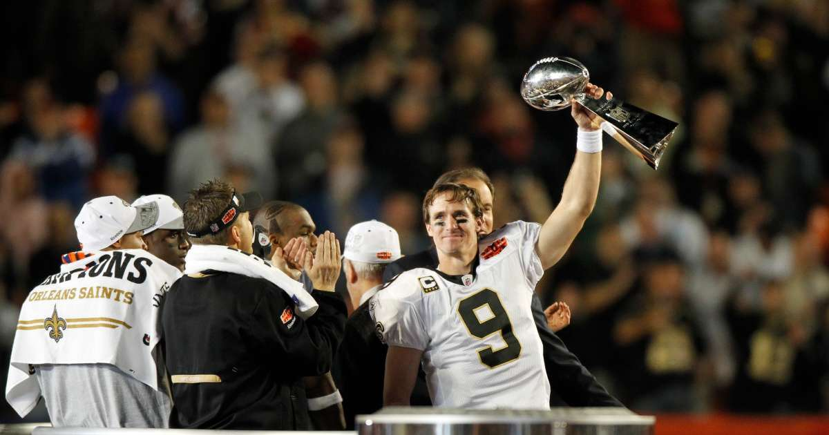New Orleans Saints 2009-2010 team where Super Bowl Champs are now