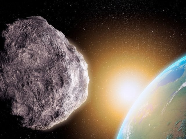 Statue of Liberty-Sized Asteroid Flying by Earth on Christmas Morning