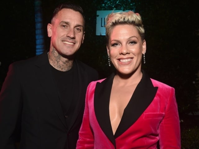 Pink and Husband Carey Hart Peacefully Protest in Masks, Rosa Parks T-Shirt
