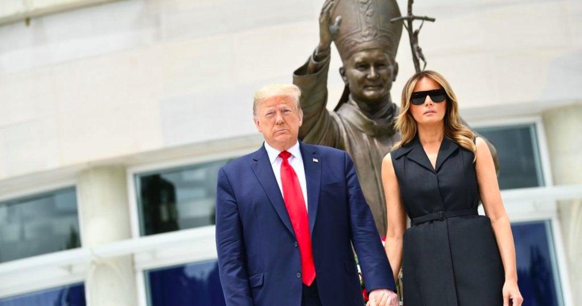 president-doanld-trump-first-lady-melania-trump