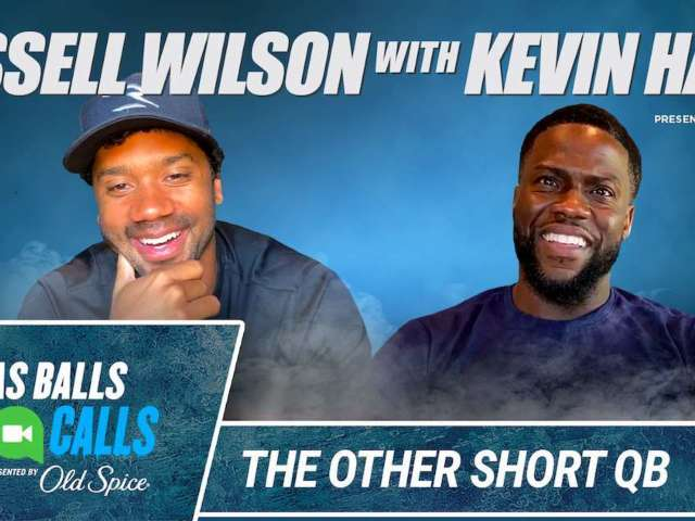 Russell Wilson Dives Deep on Quarantine, NFL Career During Kevin Hart's 'Cold As Balls: Cold Calls'