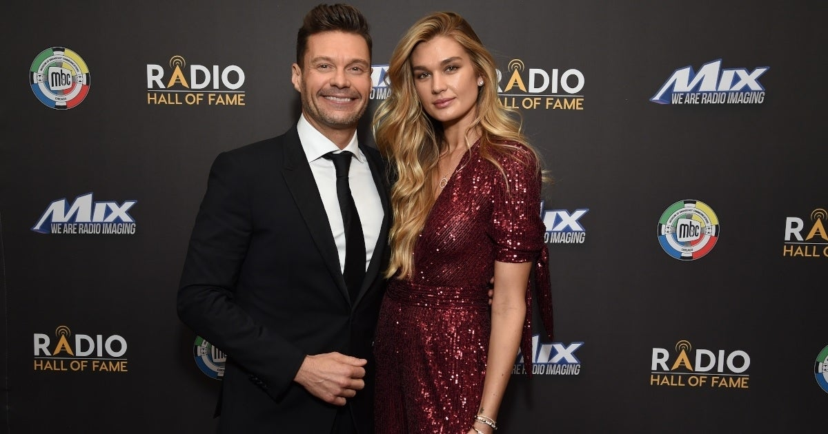 ryan seacrest shanya taylor getty images