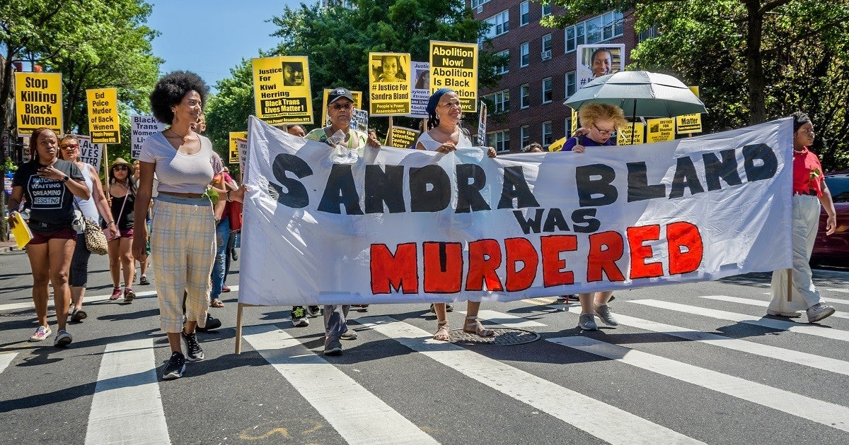 sandra-bland-protesters-getty