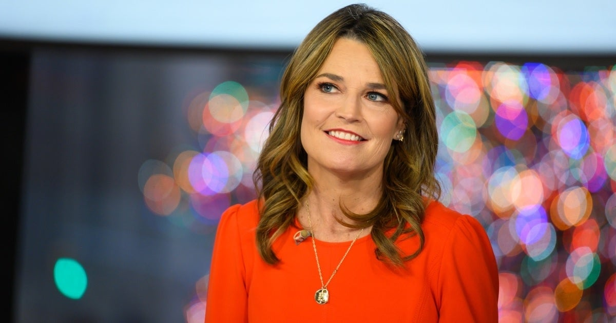savannah guthrie getty images