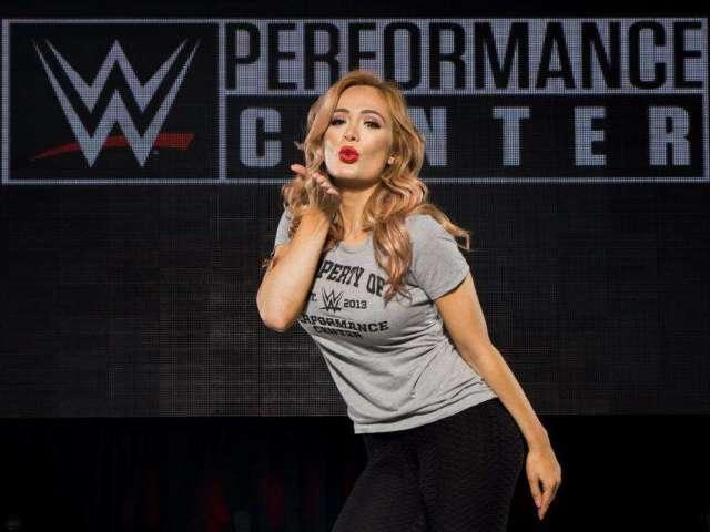 WWE's Scarlett Shares Celebration Photo After Boyfriend Karrion Kross' NXT TakeOver Win