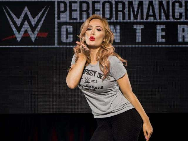 WWE: Scarlett Bordeaux Hypes up In Your House NXT TakeOver With Oceanside Bikini Photo