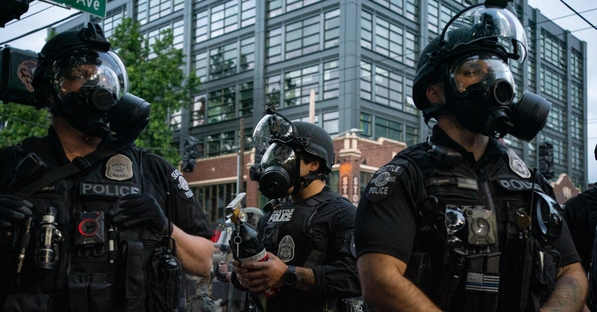 seattle police getty images