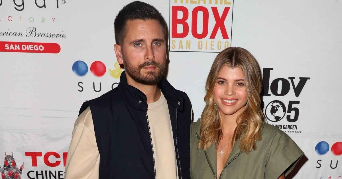sofia richie scott disick getty images